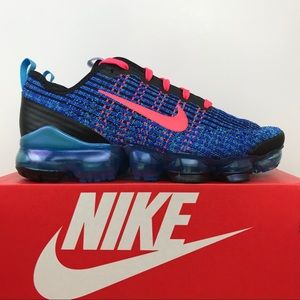 "Nike Air VaporMax Flyknit 3 (GS) ""Blue Fury"""